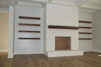 Photo Gallery of Fireplaces for Custom Homes Winston-Salem