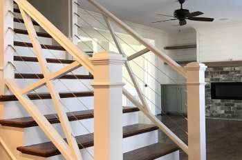 Photo Gallery of Stairs Railings for Custom Homes Winston-Salem